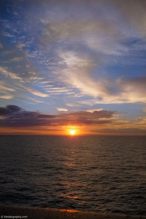 Sunrise sky bermuda